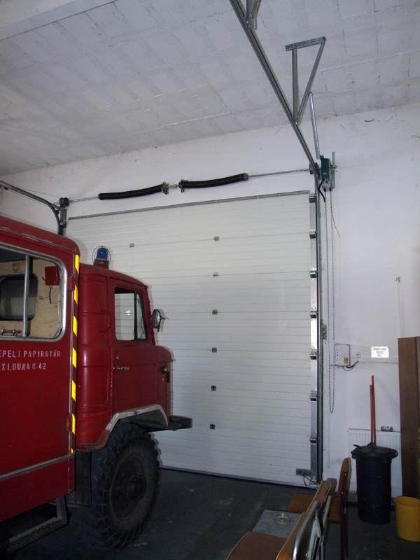 Dunapack Zrt ipari kapu belülről