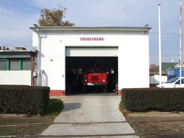Tűzoltóság ipari kapu