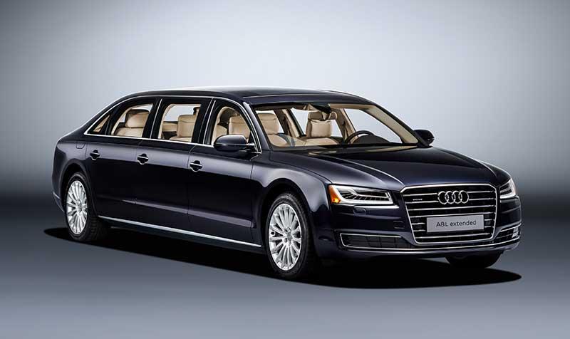 6 ülés az új Audi különlegessége – Audi A8 L extended
