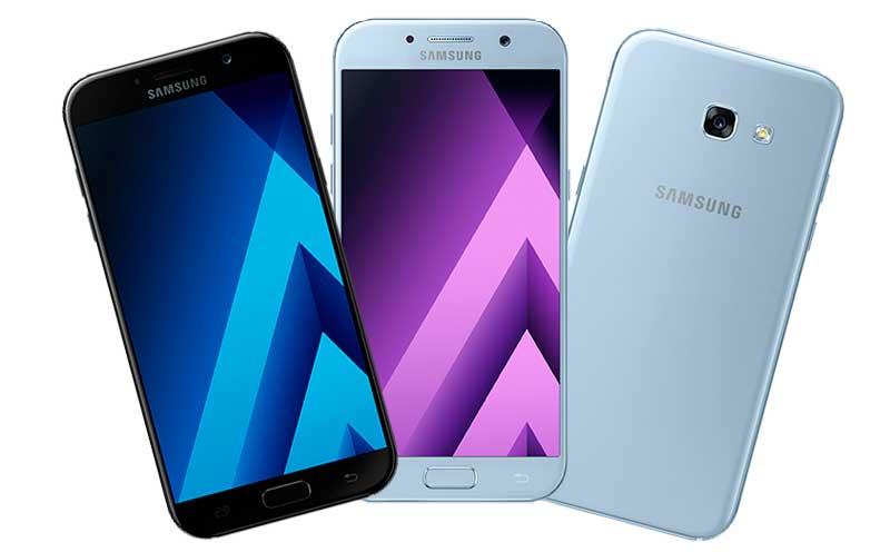 Íme a Samsung Galaxy A 2017 modellsorozat