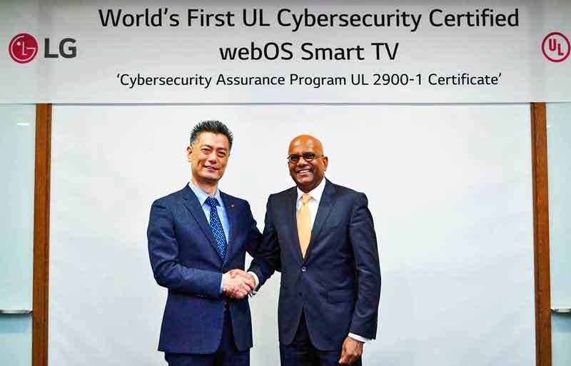 Az LG webOS 3.5 okostévé kapta a legrangosabb kiberbiztonsági tanúsítványt