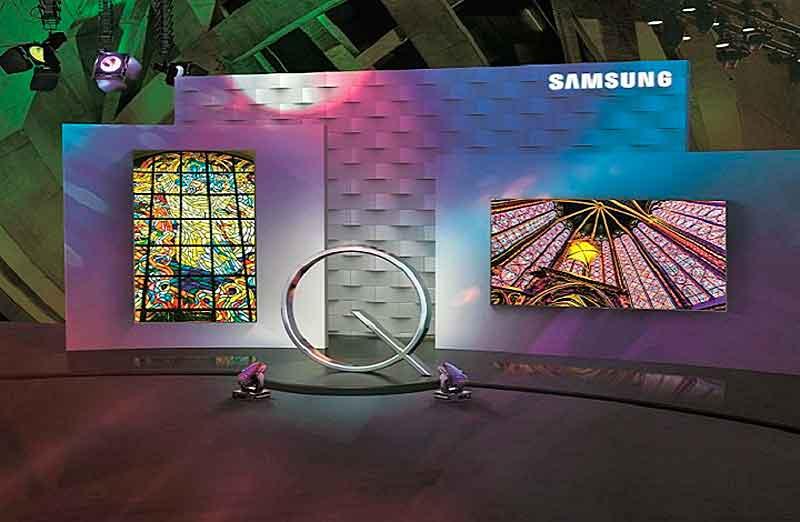 Itt vannak a Samsung új QLED Signage megjelenítői