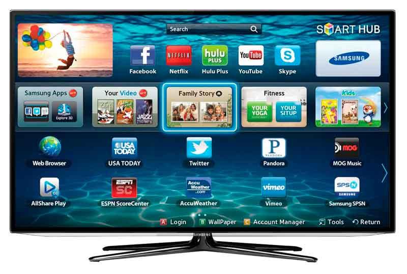 A Samsung Smart TV-ken lesz hozzáférhetővé első alkalommal a Facebook videoalkalmazása