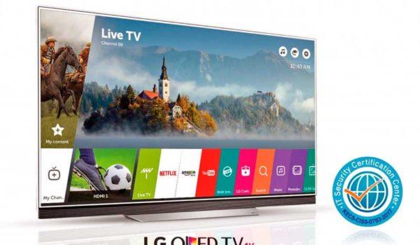 Az LG webOS 3.5 okostévé szoftvere megkapta a Common Criteria biztonsági tanúsítványát