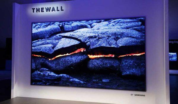 """Samsung """"The Wall"""" – Elért hozzánk is a Samsung első, 146 colos képátlójú, moduláris MicroLED televíziója"""