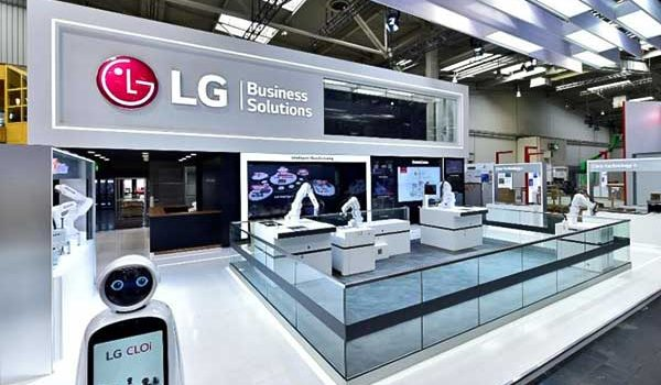 Okos ipari robotkarokat ismertetett az LG