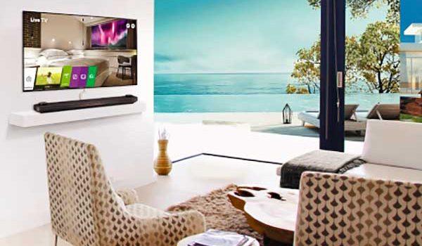 A tévék kaphatják meg a wifi-hotspotok helyét a hotelekben az LG új rendszerével