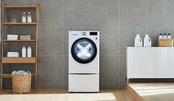 Az LG Európában is megkezdi mesterséges intelligenciával felszerelt mosógépeinek értékesítését