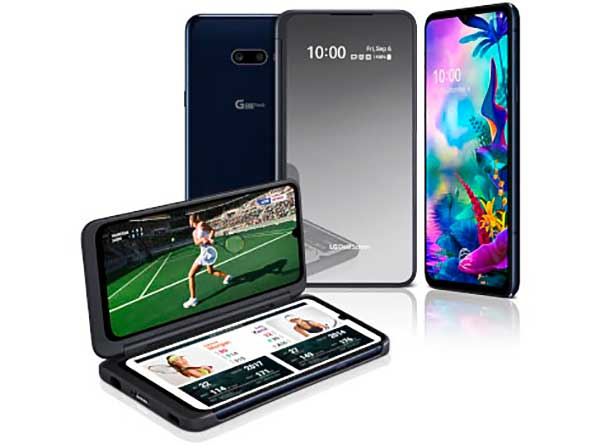 Két kijelzővel, a 2019-es IFA-n mutatkozott be az LG G8XThinQ okostelefon