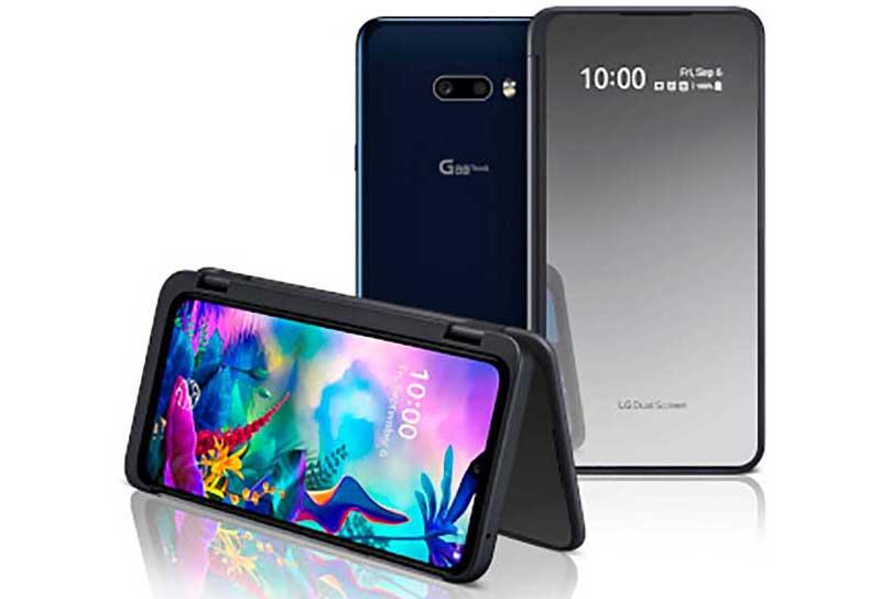 Magyarországra is elért az LG legfrissebb dupla kijelzős készüléke, a G8X ThinQ okostelefon