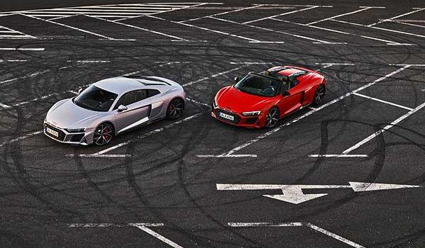Még karakteresebb, még markánsabb – Az Audi R8 V10 RWD és az Audi R8 LMS GT4