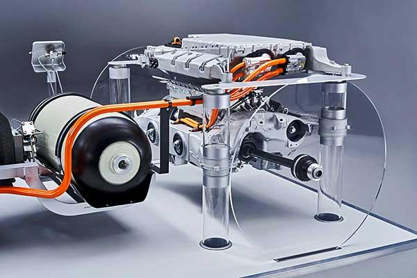 A BMW i Hydrogen NEXT hajtáslánc-technológiájának első részletei