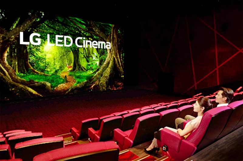 Megnyílt a világ első LG LED képernyőtechnológiával felszerelt moziterme