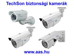 TechSon biztonsági kamera