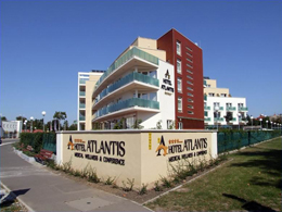 DITEC sorompók a Hotel Atlantis szállodában