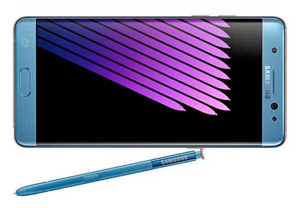 Samsung Galaxy Note 7 okostelefon