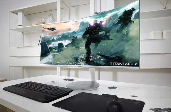 Korszerű, ívelt Samsung monitorok nanokristály technológiával CF791