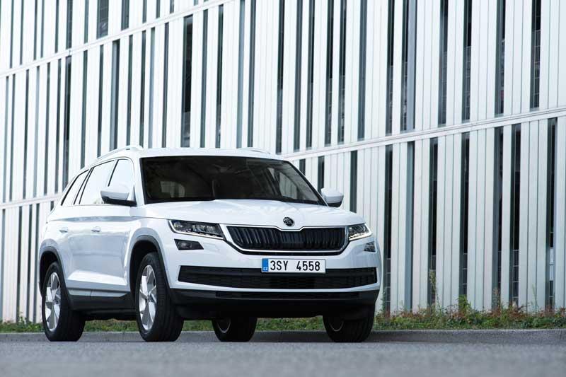 A Škoda Kodiaq a Párizsi Autószalonon fog bemutatkozni