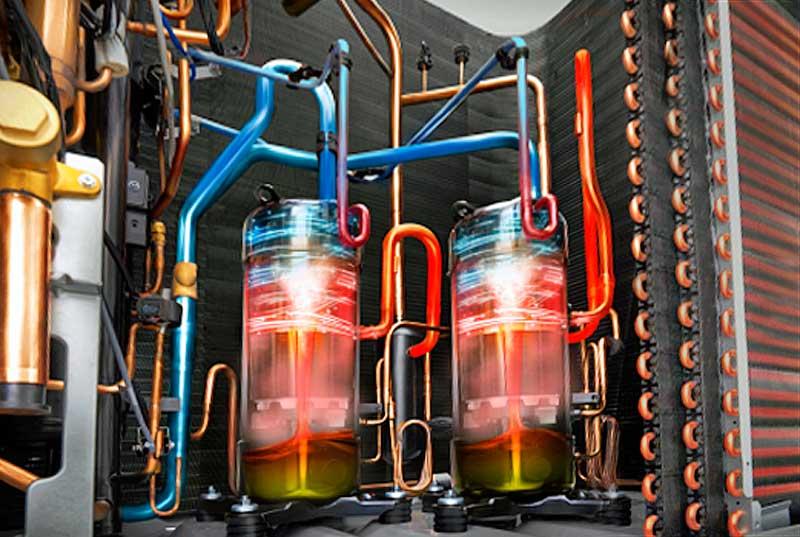 Energia-hatékonyság-optimalizáló LG Multi V 5 VRF