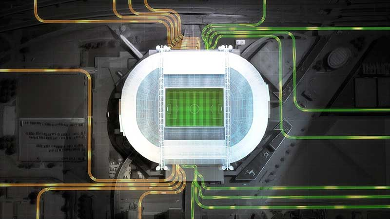 Az Amsterdam Arena az Eaton akkumulátorokat használja