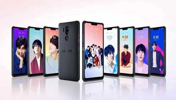 K-Pop arcok az LG-nél