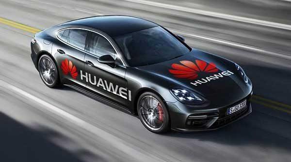 Önvezető Porschét irányít a Huawei okostelefonja