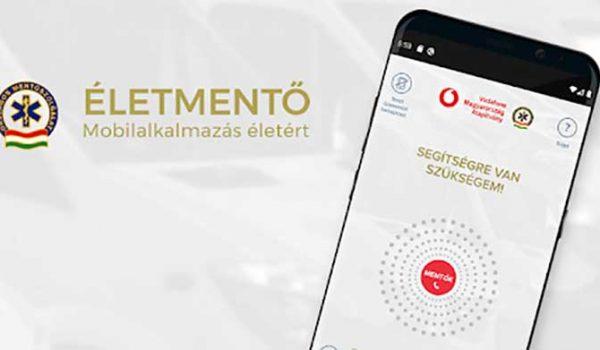 Az ÉletMentő applikáció az Év digitalizációs projektje Magyarországon