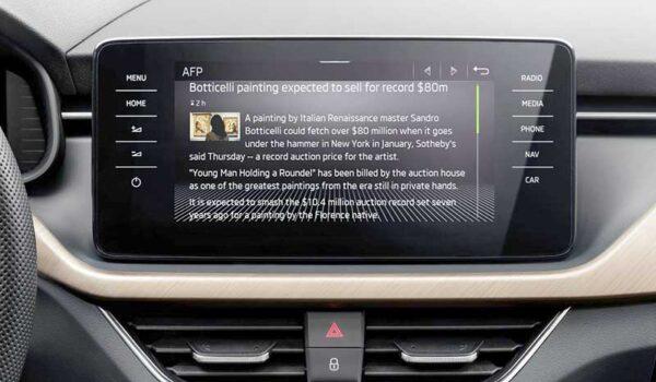 Infotainment-alkalmazásokat indít SCALA, KAMIQ, KAROQ, KODIAQ és SUPERB modellsorozataihoz a Škoda