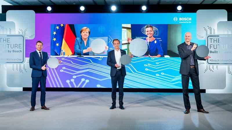A Bosch átadta a jövő chipgyárát Drezdában