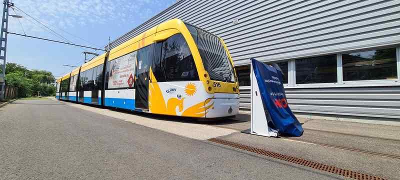 A debreceni villamosvonalon tesztelik a Bosch továbbfejlesztett ütközéselkerülő rendszerét